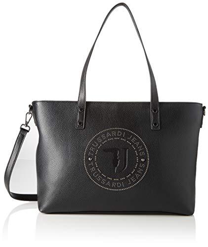Trussardi Jeans Harper Shopper Lg Tumbled Ecol, Borsa a spalla Donna,...