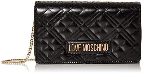 Love Moschino BORSA QUILTED NAPPA PU, Donna, Nero, Normale