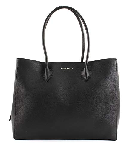 Coccinelle Farisa Large Shoulder Bag Noir