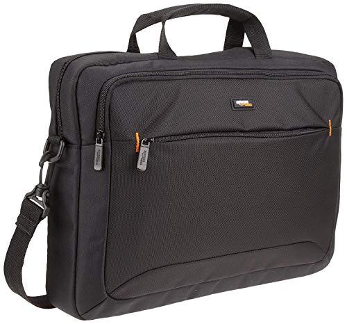AmazonBasics - Borsa compatta per computer portatile con tasche per...