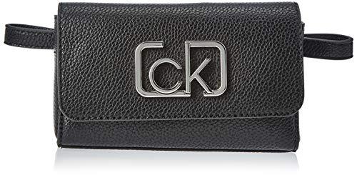 Calvin Klein Ck Cast Beltbag - Pochette da giorno Donna, Nero (Black),...