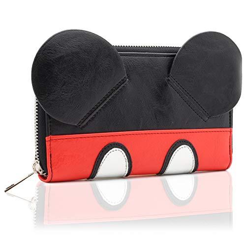 Disney Portamonete Mickey Mouse Con Orecchie 3D | Idea Regalo Per...