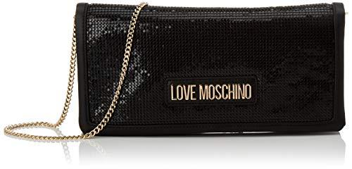 Love Moschino Jc4252pp0a, Pochette da Giorno Donna, Nero...
