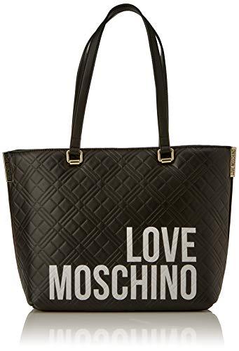 Love Moschino JC4229PP0BKE0, Borsa A Spalla Donna, Nero, Normale