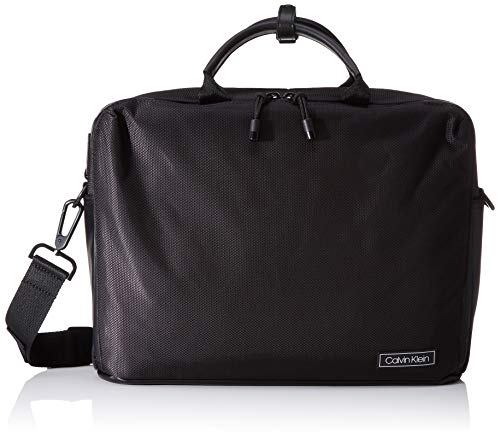 Calvin Klein Revealed Laptop Bag - Borse organizer portatutto Uomo,...
