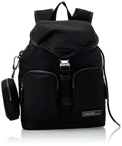 Calvin Klein Primary Backpack - Borse a tracolla Donna, Nero (Black),...