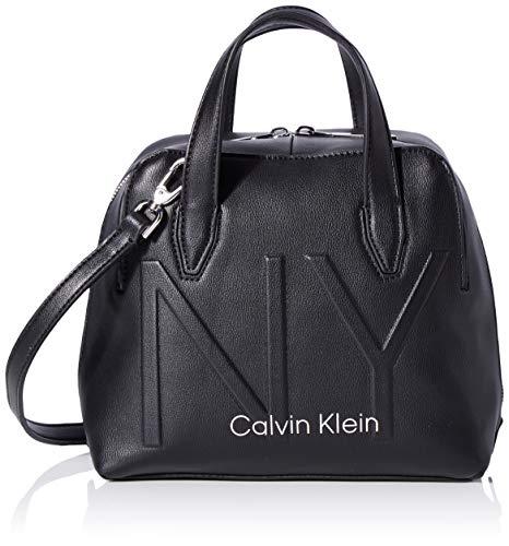 Calvin Klein Shaped Sml Duffle - Borse a tracolla Donna, Nero (Black),...