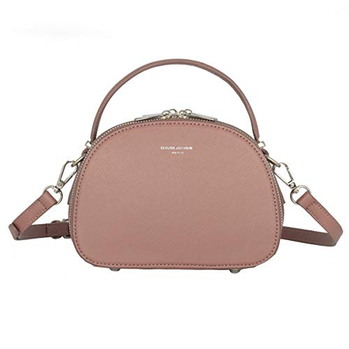 David Jones - Borsa a Tracolla Spalla Piccola Donna - Borsa a Mano Zip...