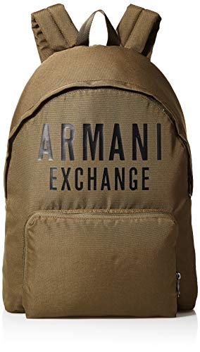 ARMANI EXCHANGE Backpack - Zaini Uomo, Bianco (White), 10x10x10 cm (W...