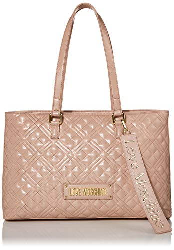 Love Moschino Accessories Quilted Logo Shopper Bag One Size PINK