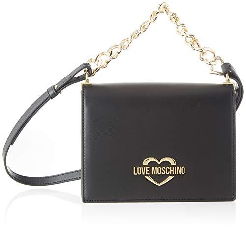Love Moschino Jc4257pp0a, Borsa a Spalla Donna, Nero (Black),...