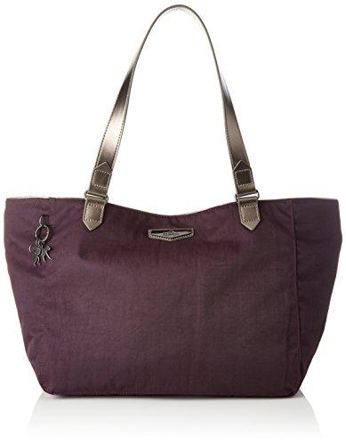 Kipling Lots Of Bag - Borse a secchiello Donna, Violett (Deep Velvet),...