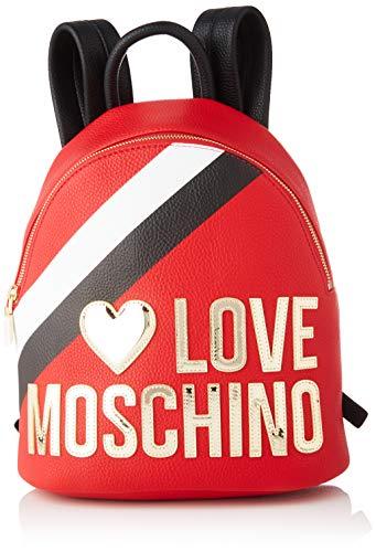 Love Moschino Jc4286pp0a, Zaino Donna, Multicolore (Red Black Multi),...