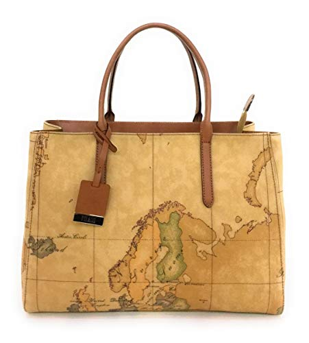 BORSA ALVIERO MARTINI GEO CLASSIC LARGE HAND BAG CD0886000 NATURAL