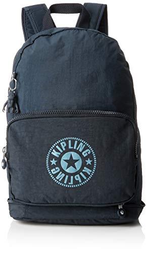 Kipling CLASSIC NIMAN FOLD Zaino Casual, 49 cm, 21 liters, Blu (Lively...