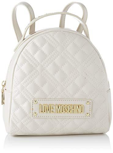 Love Moschino JC4201PP0BKA0, Zaino Donna, Bianco Sporco, Normale