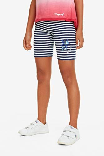 Desigual Leggings Corto Double Face Shortie 19SGKK06 Pantalone Corto a...