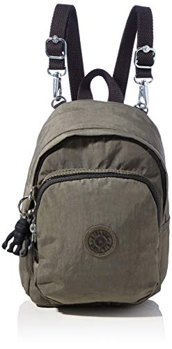 Kipling Delia Compact, Backpacks Donna, Green Moss, 13x18x23.5 cm