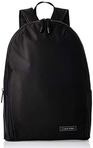 Calvin Klein Revealed Round Backpack - Borse a spalla Uomo, Nero...