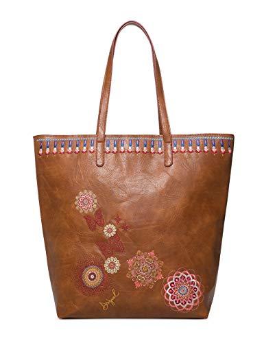 Desigual Bag Chandy Rio Zipper Women - Borse a spalla Donna, Marrone...