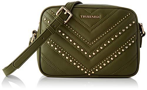 Trussardi Jeans Shoulder, Berlino Camera Bag Smooth ECOL Donna,...