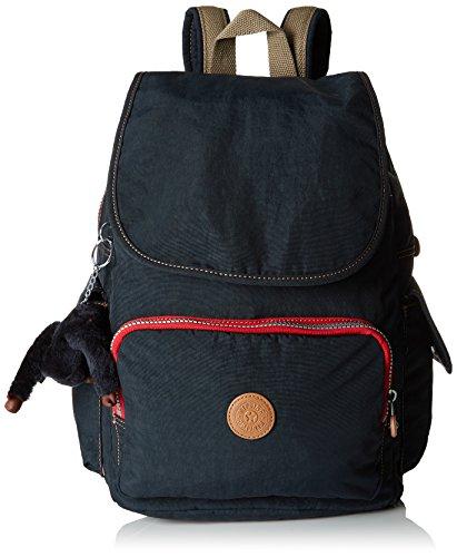 Kipling City Pack - Zaini Donna, Blu (True Navy C), 32x37x18.5 cm
