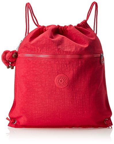 Kipling Supertaboo - Zaini Unisex Adulto, Rosa (True Pink), 15x24x45...