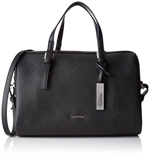 Calvin Klein Marissa Duffle, 001, OS, Borsa a Secchiello Donna, Nero...
