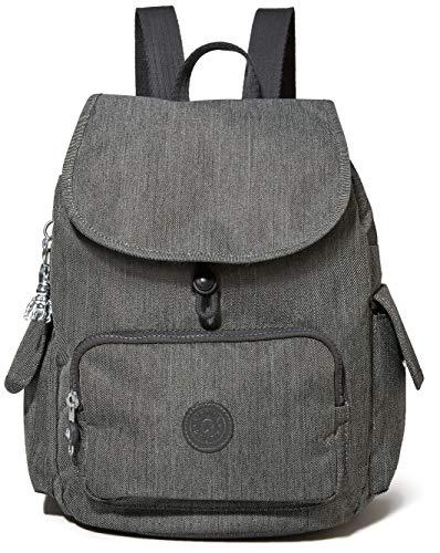 Kipling City Pack S, Backpacks Donna, Black Peppery, 19x27x33.5 cm