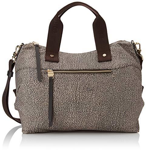 Borbonese Handbag, Borsa a Mano Donna, (Op Classico/Marrone), 33x16x15...