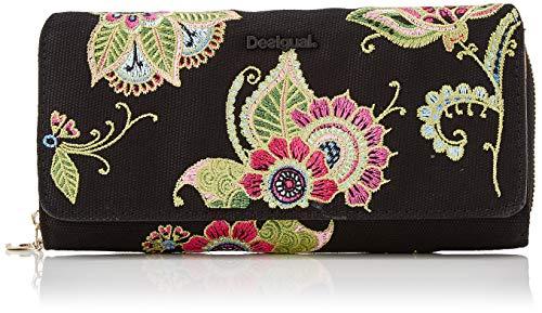 Desigual Wallet Anubis Maria, Portafogli Donna, Pink (Fucsia),...