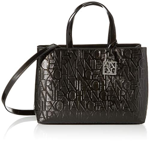 ARMANI EXCHANGE - Borsa da donna con licenza media, 16 x 35 x 24 cm,...