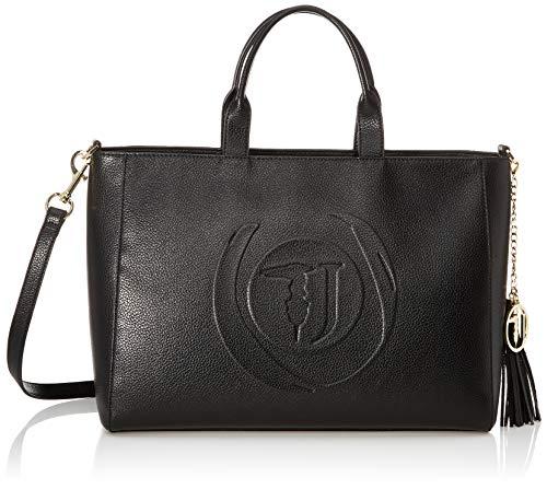 Trussardi Jeans Faith Shopper Lg Tumbled Ecole, Borsa a mano Donna,...
