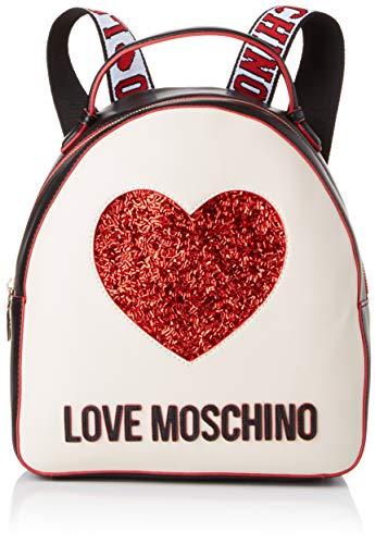 Love Moschino Nappa Pu Mix, Borsa a Zainetto Donna, Multicolore...