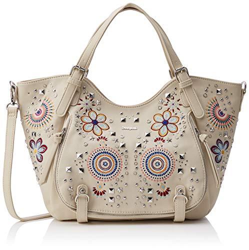 Desigual Bag Apolo Rotterdam Women - Borse a spalla Donna, Bianco...