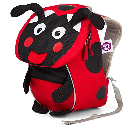 Affenzahn Small Friend Lilly Ladybird Red Zainetto per bambini, 25 cm,...