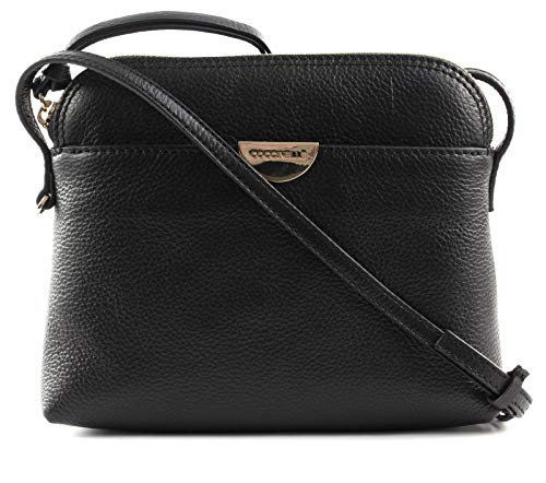 Coccinelle Half Crossbody Bag tracolla Mini Half Crossbody Bag Noir