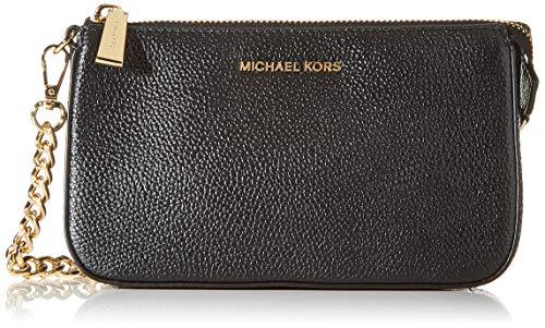 Michael Kors Chain Wallet Jet Set 32F7GFDW6L Nero Donna, Black,...