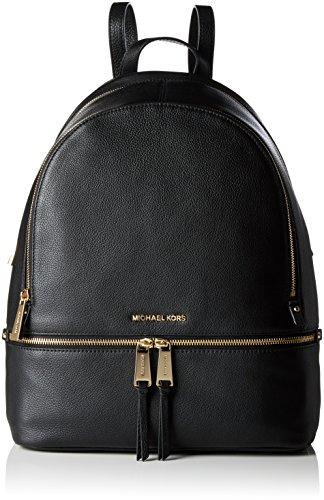 Michael Kors Rhea Zip Lg Backpack - Borse a zainetto Donna, Nero...