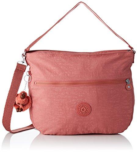 Kipling Fenna - Borse a spalla Donna, Rosa (Dream Pink), 9.5x37x31 cm...