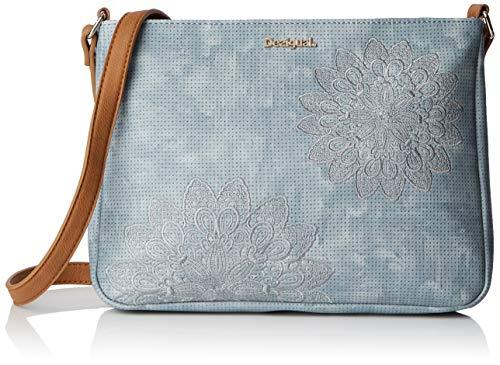 Desigual Bag Atila Espot Women - Borse a tracolla Donna, Blu (Azul...