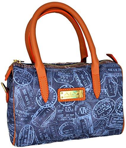 ALVIERO MARTINI Borsa Bauletto Piccolo Donna Denim Small Bag Blue